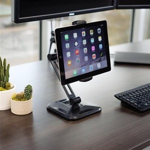 """StarTech.com Adjustable Tablet Stand with Arm - Universal Mount for 4.7"""" to 12.9"""" Tablets such as the iPad Pro - Tablet De"""