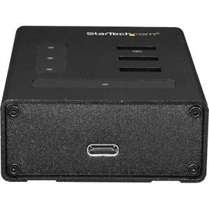 StarTech.com 4 Port USB Hub - Metal - UBS-A to 3x USB A and 1x USB C - USB 3.0 - Industrial USB Hub - Mountable USB Hub -