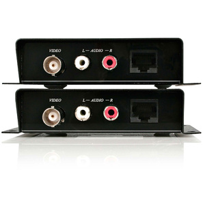StarTech.com Composite Video Extender over Cat 5 with Audio - composite Video Extender - composite over Cat5 - 1 Input Dev