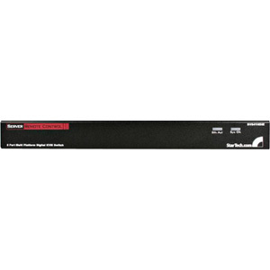 StarTech.com 8 Port Rackmount USB PS/2 Digital IP KVM Switch - 8 Computer(s) - 1 Local User(s) - 1 Remote User(s) - 1920 x