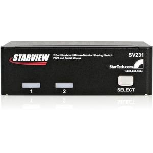 2 Port Professional PS/2 KVM Switch - 2 Computer(s) - 1 Local User(s) - 1920 x 1440 - 6 x PS/2 Port - 3 x VGA - Desktop