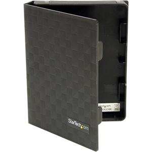 StarTech.com 2.5in Anti-Static Hard Drive Protector Case - Black (3pk) - 2.5 HDD protector black - 2.5 HDD protector - Pol