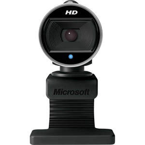 Cámara Web Microsoft LifeCam - 30fps - USB 2.0 - 5Megapíxel Interpolado - 1280 x 720 Vídeo - CMOS Sensor - Auto-foco - Pan