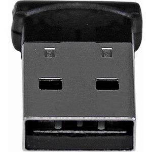 StarTech.com Bluetooth Adapter - Mini Bluetooth 4.0 USB Adapter - 50m/165ft Wireless Bluetooth Dongle - Smart Ready LE+EDR