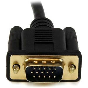 StarTech.com HDMI to VGA Cable - 10 ft / 3m - 1080p - 1920 x 1200 - Active HDMI Cable - Monitor Cable - Computer Cable - F