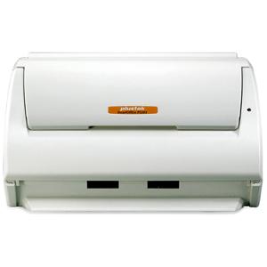 Plustek SmartOffice PS283 Sheetfed Scanner - 600 dpi Optical - 48-bit Color - 16-bit Grayscale - 25 ppm (Mono) - 5 ppm (Co