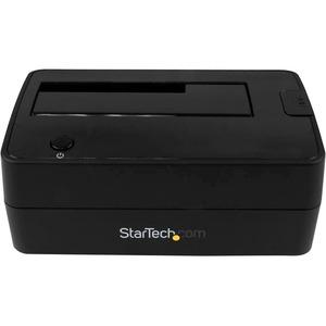StarTech.com Base de Conexión USB 3.1 (10 Gbps) con UAS de 1 Bahía para Disco Duro o SSD SATA de 2,5 o 3,5 Pulgadas - 1 x