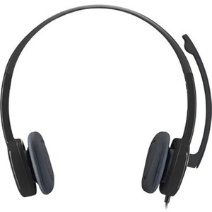 Cuffie Logitech H151 Cavo Over-the-head Stereo - Nero - Binaural - Supra-aural - 22 Ohm - 20 Hz a 20 kHz - 180 cm Cavo - N