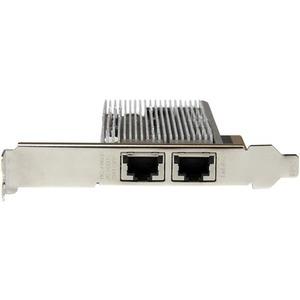 StarTech.com 10g Network Card -2 port- 10GBase-T - Dual 100/1000/10g RJ45 Ports - Intel X540 chipset - PCIe Ethernet Card