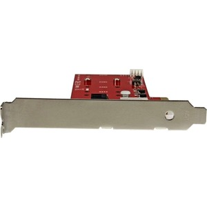 StarTech.com 2x M.2 NGFF SSD RAID Controller Card plus 2x SATA III Ports - PCIe - Two Slot PCI Express M.2 RAID Card plus