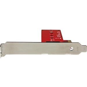 StarTech.com M.2 Adapter - x4 PCIe 3.0 NVMe - Low Profile and Full Profile - SSD PCIE M.2 Adapter - M2 SSD - PCI Express S