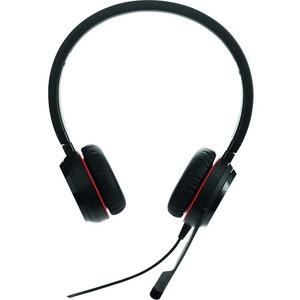 Cuffie Jabra EVOLVE 30 II Cavo Over-the-head Stereo - Binaural - Supra-aural - Noise Canceling - Mini-telefono 3,5 mm