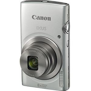 "Cámara Compacta Canon IXUS 185 - 20 Megapíxel - Plata - 1/2,3"" Sensor - Sí - 6,8 cm (2,7"")LCD - 8x Zoom Óptico - 4x Zoom D"