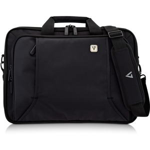 """V7 PROFESSIONAL CCP17-BLK-9E Carrying Case for 43.2 cm (17"""") Notebook - Black - Weather Resistant - Handle"""