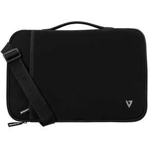 "V7 CSE12HS-BLK-9E Carrying Case (Sleeve) for 31 cm (12.2"") MacBook Air - Black - Fleece Interior, Neoprene Exterior - Hand"