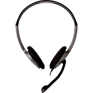 Cuffie stereo leggere V7, archetto ergonomico e regolabile, microfono con braccio multidirezionale a 270° con cancellazion