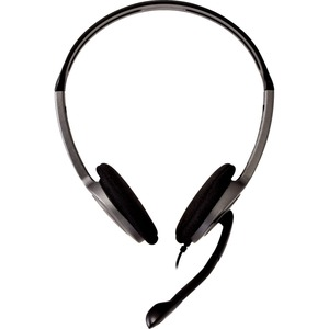 V7 HA212-2EP Wired Over-the-head, On-ear Stereo Headset - Black - Binaural - Supra-aural - 32 Ohm - 20 Hz to 20 kHz - 180