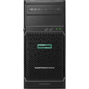 HPE ProLiant ML30 G10 4U Tower Server - 1 x Intel Xeon E-2224 3.40 GHz - 8 GB RAM HDD SSD - Serial ATA/600 Controller - 1