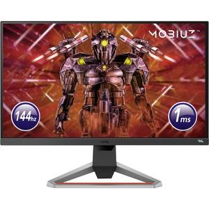 """Monitor LCD da gaming BenQ MOBIUZ EX2710 68,6 cm (27"""") Full HD LED - 16:9 - Grigio scuro, Nero - 685,80 mm Class - Tecnolo"""