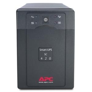 APC SMART-UPS SC 420VA 260W SER W/ SHUTDOWN SOFTWARE IN