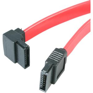 StarTech.com Cable Serial ATA SATA a SATA Acodado a la Izquierda 18in - H/H - Extremo prinicpal: 1 x 7-clavijas Hembra SAT