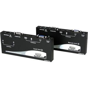 StarTech.com Extender console KVM VGA USB via cavo UTP Cat5 a lungo raggio - 304 m - 2 Computer - 1 Utente Locale - 1 Uten