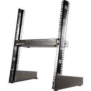 """StarTech.com Coppia di staffe rack a giorno per scrivania da 19"""" , 12U - 50 kg Capacità massima di peso"""