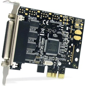 StarTech.com 4 Port RS232 PCI Express Serial Card w/ Breakout Cable - PCI Express x1 - 4 x DB-9 RS-232 Serial - 1.95 Mbit/