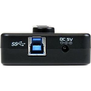 StarTech.com Adaptador Concentrador HUB Ladrón USB 6 Puertos - 2x USB 3.0 -4x USB 2.0 - 1x USB Cargador de 2A - 6 Total US