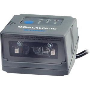 Datalogic Gryphon GFS4400 Fixed Mount Barcode Scanner - Cable Connectivity - 1D, 2D - Imager - Omni-directional - Serial