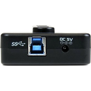 StarTech.com 6 Port USB 3.0 / USB 2.0 Combo Hub with 2A Charging Port - 2x USB 3.0 & 4x USB 2.0 - 6 Total USB Port(s) - 4