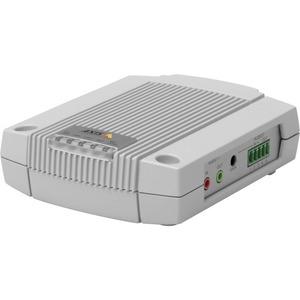 AXIS P8221 Network I/O Audio Module - 9.9 cm Width x 11.8 cm Depth x 3.2 cm Height - Metal