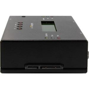 StarTech.com Duplicador y Borrador de Unidades de Disco 1:1 SATA y SAS de 3,5/2,5 - Clonador de Unidades