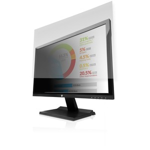 """V7 PS24.0WA2-2E Privacy Screen Filter - For 61 cm (24"""") Widescreen LCD Monitor, Notebook - 16:10 - Scratch Resistant"""