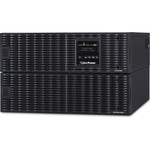 CyberPower OL6KRTHW Smart App Online UPS Systems - 200 - 240 VAC, Hardwire, 6U, Rack / Tower, Sine Wave, 1 Outlets, LCD, P