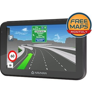 NAVMAN CRUISE650MMT 6-INCH CAPACITIVE TOUCHSCREEN ANZ FREE MAPS MONTHLY INCLUDED BT HANDSFREE SPOKEN STREET NAMES 3D JUNCT