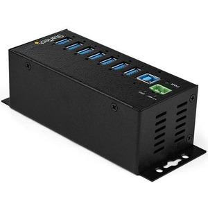 StarTech.com USB Hub - USB 3.0 Type B - External - TAA Compliant - UASP Support - 7 Total USB Port(s) - 7 USB 3.0 Port(s)