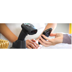 Zebra LI4278 Industrial, Manufacturing Handheld Barcode Scanner - Wireless Connectivity - White - USB Cable Included - 547