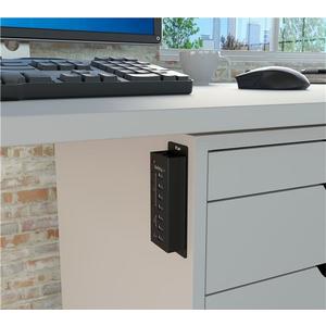 StarTech.com Hub USB 3.0 alimentato a 4 porte con 3 porte di ricarica USB dedicate (2 x 1A e 1 x 2A) - Box esterno in meta