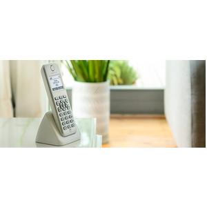Telefono cordless AVM FRITZ!Fon M2 - DECT - Bianco - 300 m Range - 1 x Linea telefonica - Vivavoce
