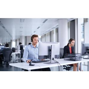 Jabra EVOLVE 75 MS Wireless Over-the-head Stereo Headset - Binaural - Circumaural - 3048 cm - Bluetooth - 20 Hz to 20 kHz