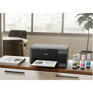 Epson EcoTank L3110 Inkjet Multifunction Printer - Colour - Copier/Printer/Scanner - 33 ppm Mono/15 ppm Color Print - 5760