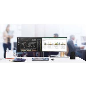 Thin Client LG CL600W-1C Ultra SmallIntel Celeron J4105 Quad core (4 Core) 1,50 GHz - 8 GB RAM DDR4 SDRAM - 128 GB SSD - I