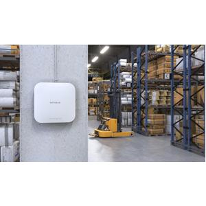 Punto di accesso wireless Netgear WAX610 - 802.11ax - 1,76 Gbit/s - 2,40 GHz, 5 GHz - Tecnologia MIMO - 1 x Rete (RJ-45) -