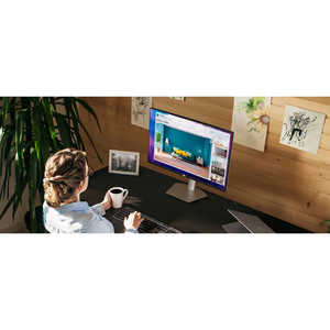 """Dell S2721DS 68.6 cm (27"""") WQHD WLED LCD Monitor - 16:9 - Grey - 685.80 mm Class - In-plane Switching (IPS) Technology - 2"""