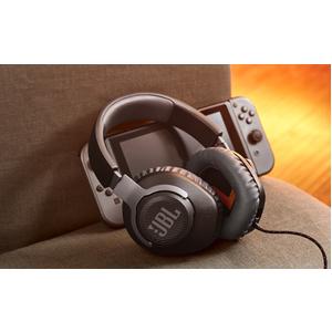 Auriculares de gaming JBL Quantum 100 Cableado Sobre la cabeza Estéreo - Negro - Binaural - Circumaural - 32Ohm - 20Hz a 2