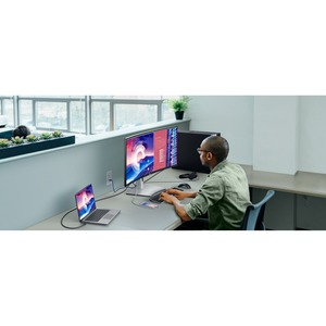 "Dell U3821DW 96.5 cm (38"") UW-QHD+ LED LCD Monitor - 21:9 - 965.20 mm Class - 3840 x 1600 - 60 Hz Refresh Rate"