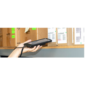 Socket Mobile DuraSled DS840 Modular Barcode Scanner - Plug-in Card Connectivity - USB Cable Included - 495.30 mm Scan Dis