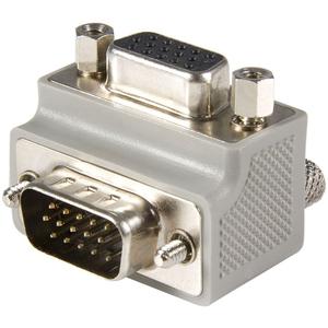 StarTech.com StarTech.com VGA adapter cable - Type 1 - right angle VGA (m) - VGA (f) - 1 x HD-15 Male VGA - 1 x HD-15 Fema