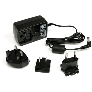StarTech.com 12V DC 1.5A Universal Power Adapter - Replace your 12V DC (1.5 Amp) power cable, with a reliable connection -
